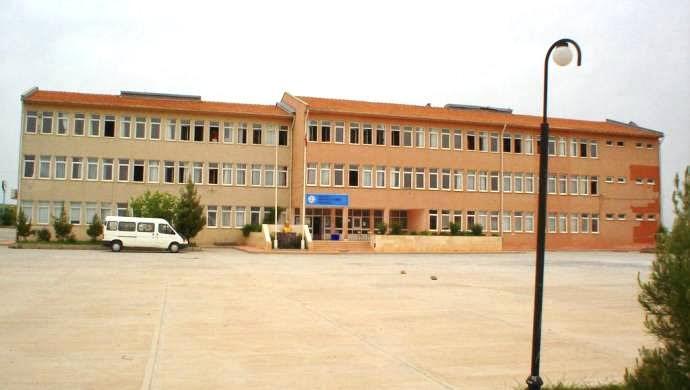 Faaliyette olduğu zamana ait okul binasının bir fotoğrafı