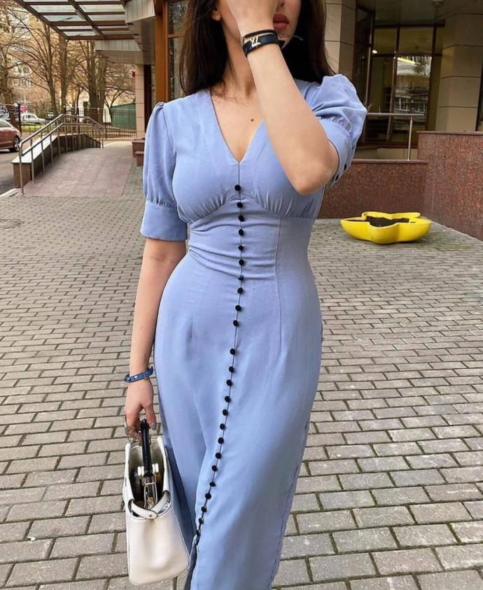 Sizce bu elbise güzel mi?