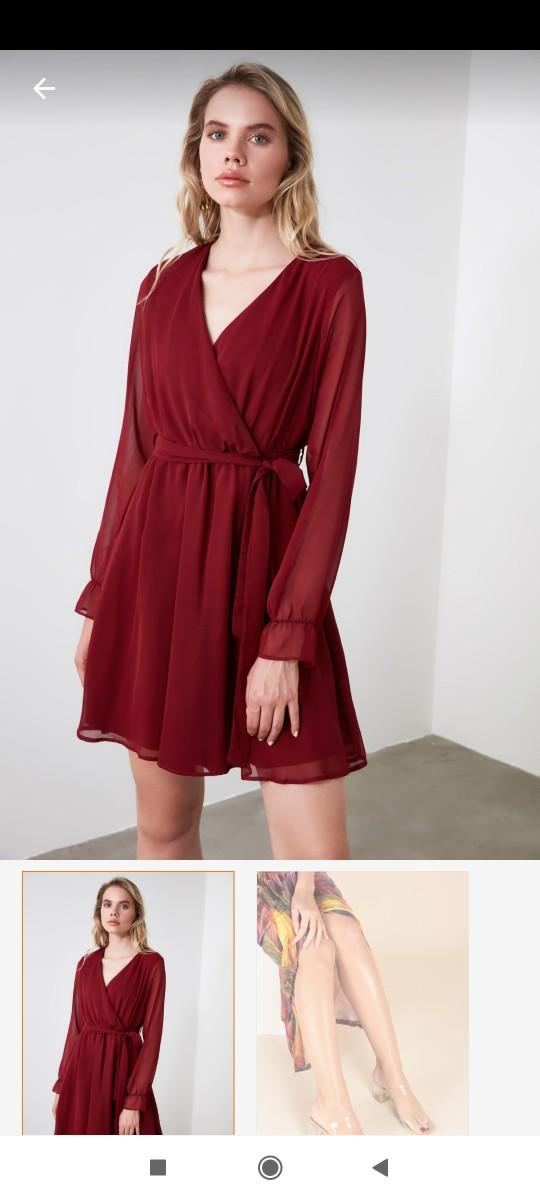 Ailelerimiz tanışacak. Sizce bu elbise ve terlik uygun mu?