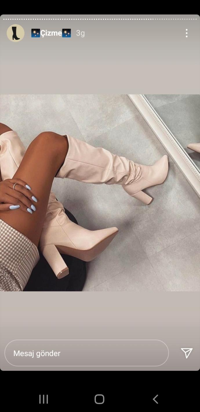Günlük rahatlığı ile tercih ettiğiniz kıyafetlerle hangi model çizme modelini tercih edersiniz?