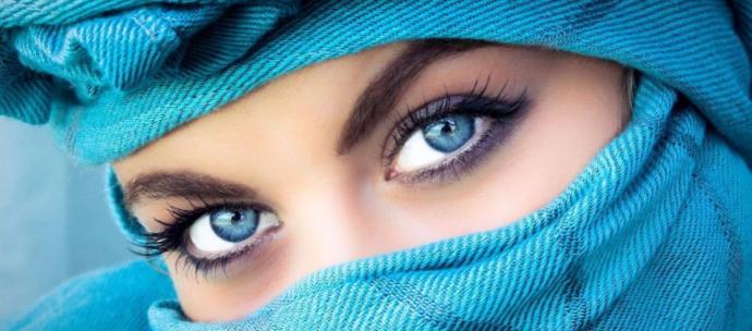 Gözleriniz ile anlaştığınız biri var mı?