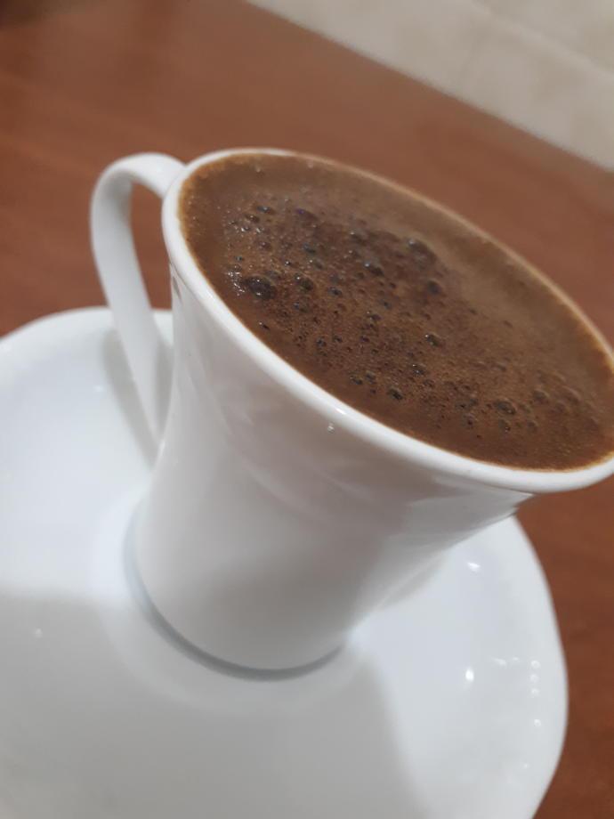 Olmadi kahve iceriz çocuk yapmak yerine 😀
