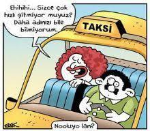 Bindiğiniz takside şöförle konuşur musunuz?