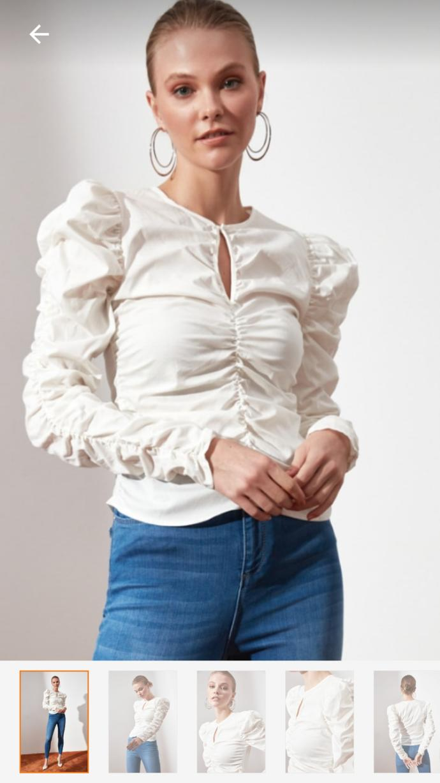 Bu bluz sizce nasıl kombinlenir?