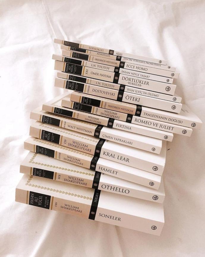 Dünya klasikleri okumayı seviyor musunuz?