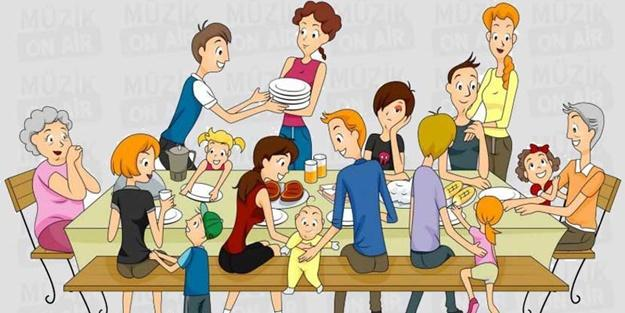 Akrabalarınız ile aranız nasıl?