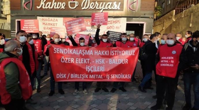 Gebze'den Ankara'ya yürüyen işçiler dövülerek tutuklandı?