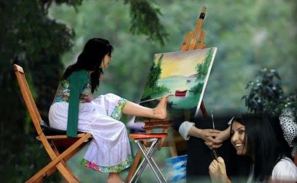 Bedensel engeli olup sanatta tüm engelleri aşan sanatçılara bir cümle yazsanız bu ne olurdu?