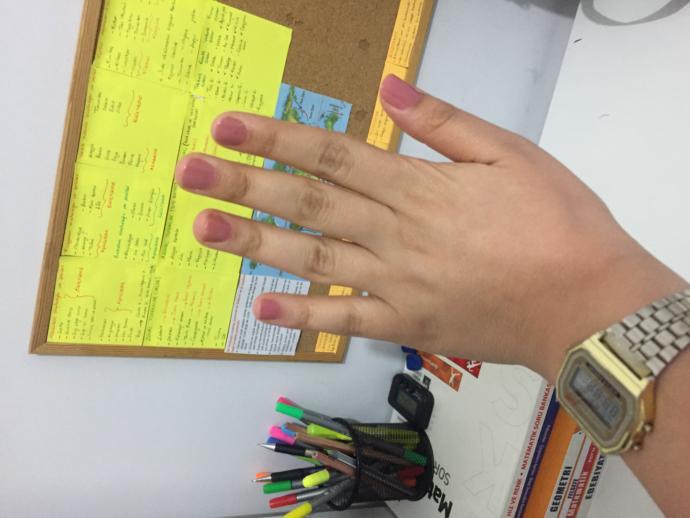 Ellerim çok mu kilolu?