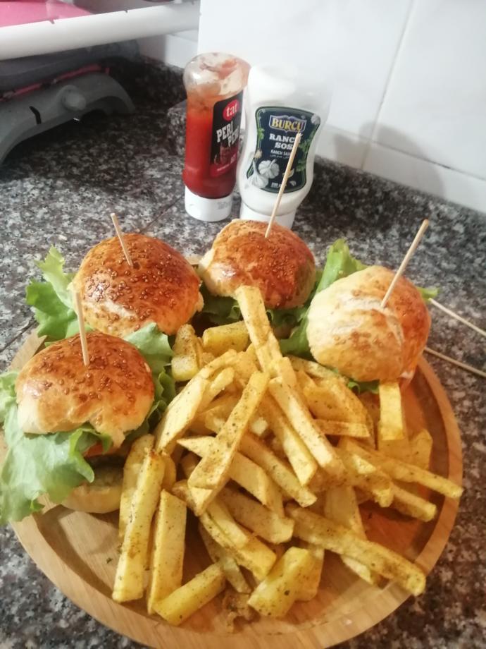 Hamburger severmisiniz?