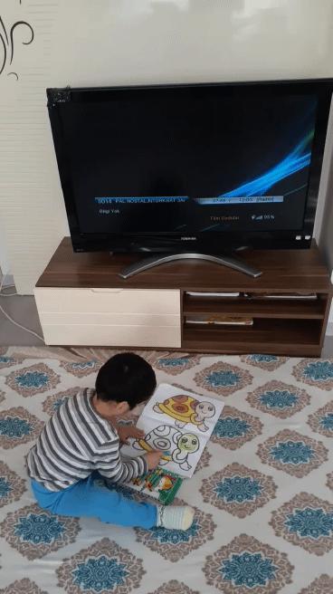 Oğlum çalışkan mı yaramaz mı sizce?