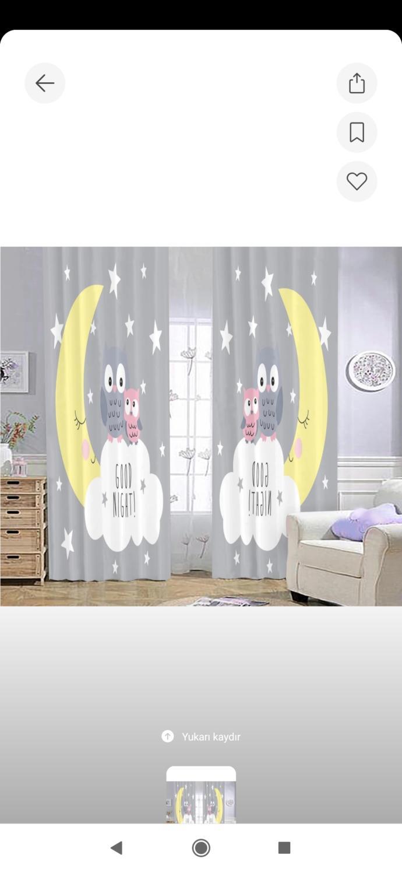 Çocuk odası fon perde için sizce hangisi?