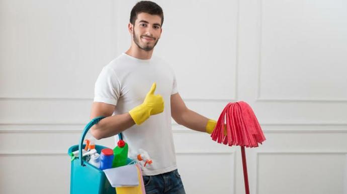 Erkekler, temizlik yapıyor musunuz?