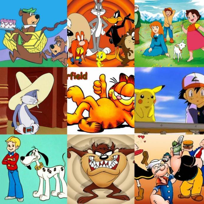 Çocukken en sevdiğiniz çizgi film hangisiydi?