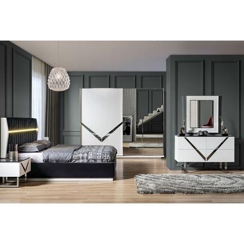 Hangi yatak odası daha modern ve şık duruyor?