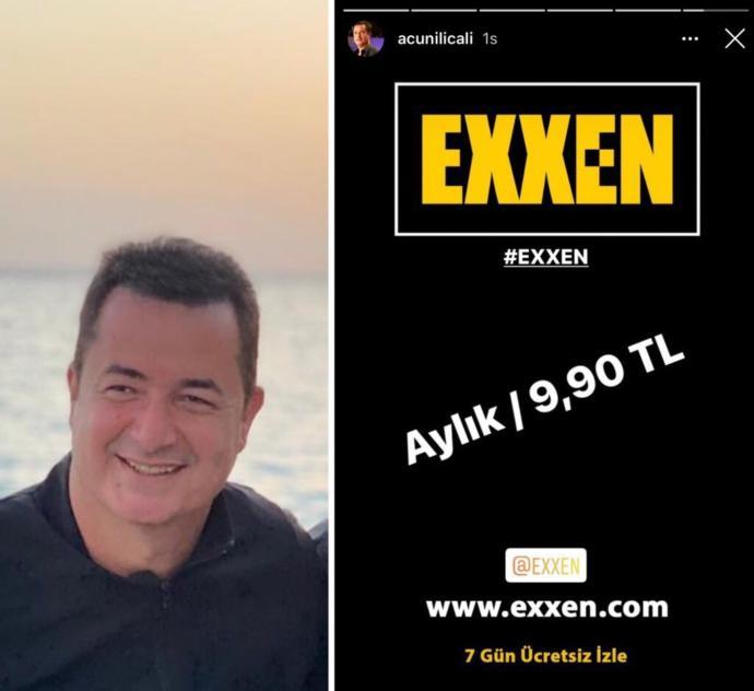 Acun Ilıcalının yeni projesi Exxen sizce tutar mı?