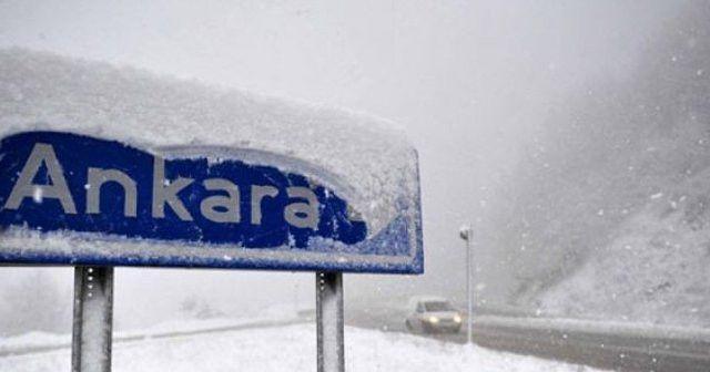 Ankara da lapa lapa kar yağıyor sizin oralarda hava nasıl?