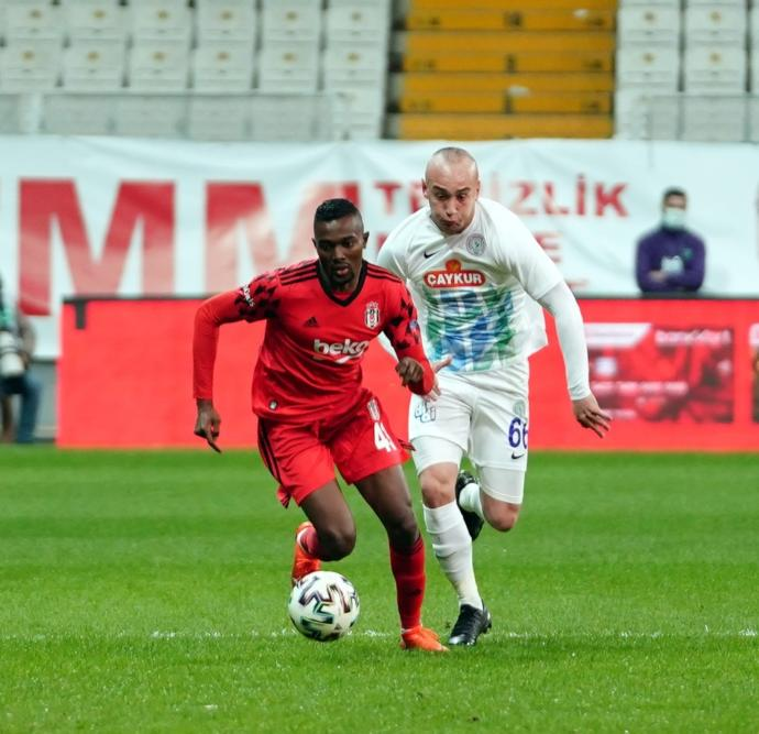 Ziraat türkiye kupasında Beşiktaş Ç. Rizesporu 1-0 yendi! Maçı nasıl buldunuz?