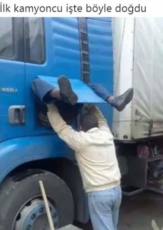 Kamyoncu olunur mu yoksa kamyoncu doğulur mu?