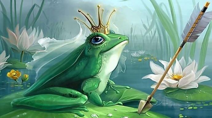 Kurbağa prens mi gelmiş? E hoş geldin o zaman?