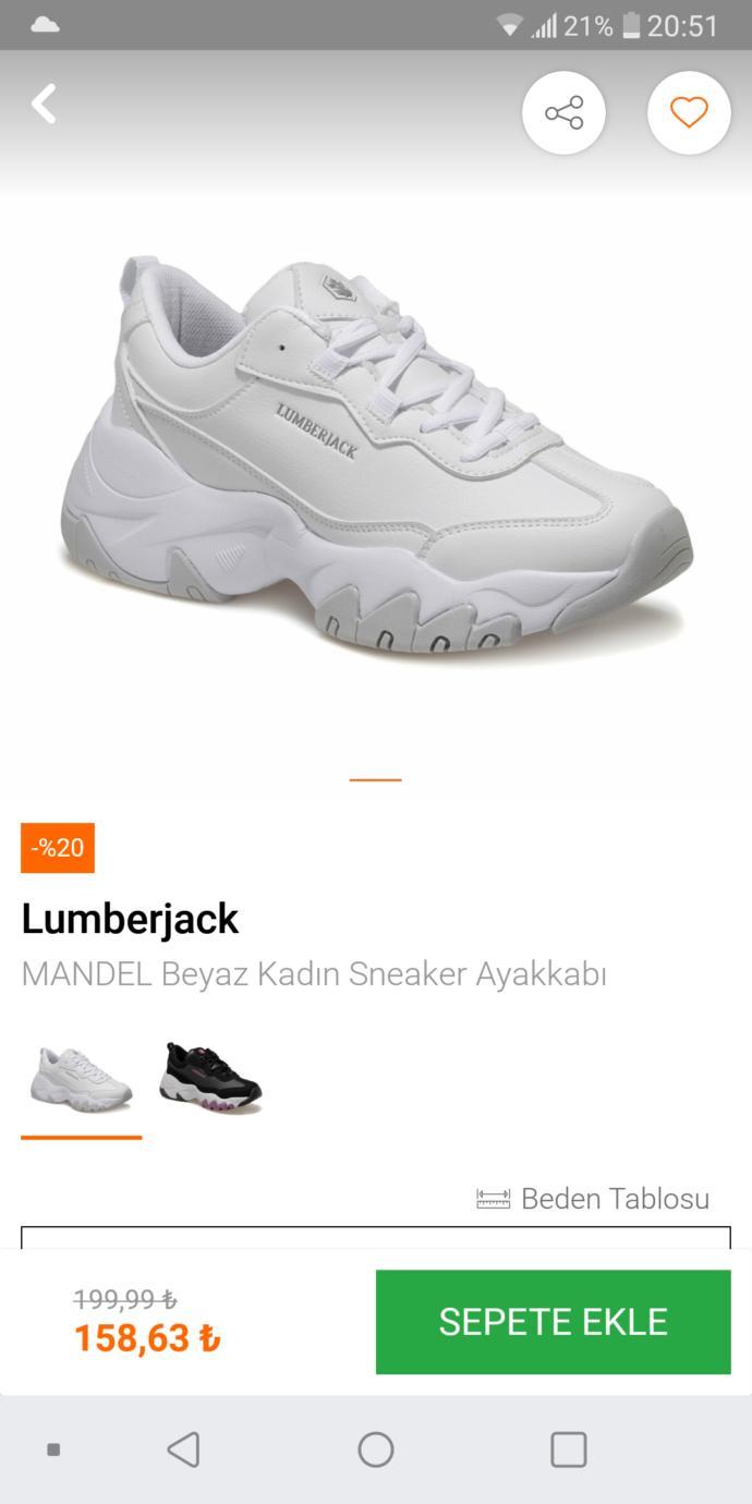 Bu ayakkabı çok mu kaba?