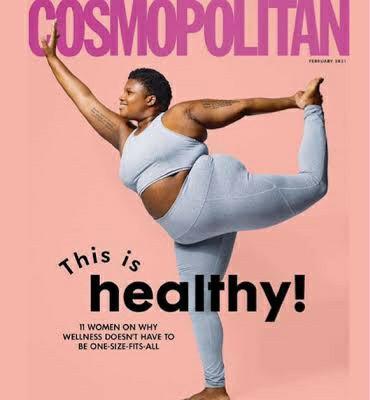 Cosmopolitan dergisinin yeni dergi kapağıyla ilgili ne düşünüyorsunuz?