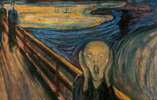 Edward Munch - Çığlık