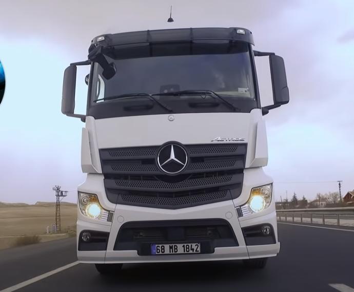 Mercedesin kamyonları Türkiyede üretiliyormuş biliyormuydunuz?