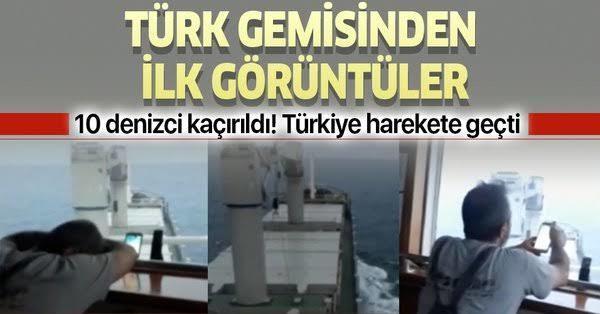 Nijeryada Türk gemisi saldırıya uğradı, bunların derdi ne?