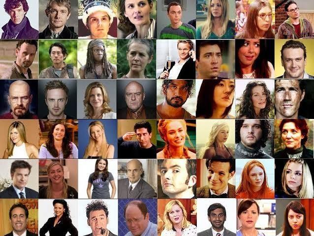 Senin efsanen hangi dizi karakteriydi?