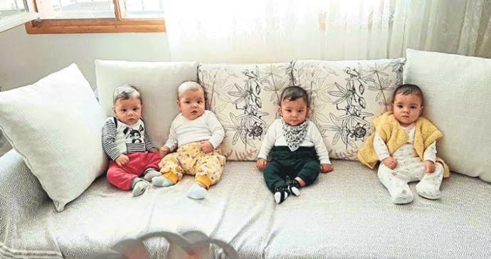 4 üz bebek sahibi olmayı ister misiniz?