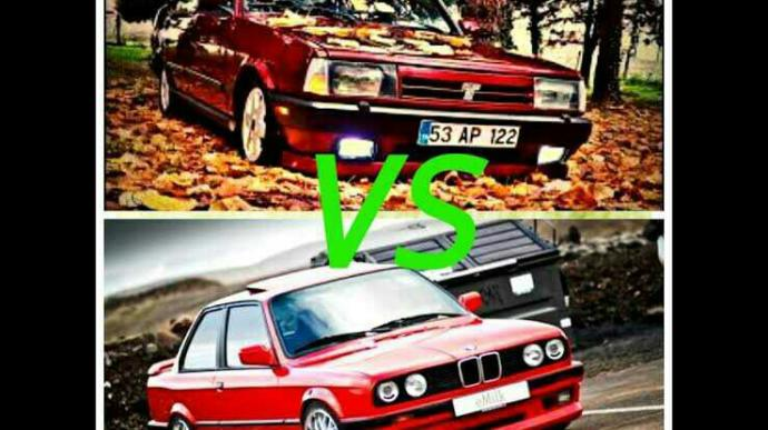 Tofaş Şahin VS Bmw E30 ?