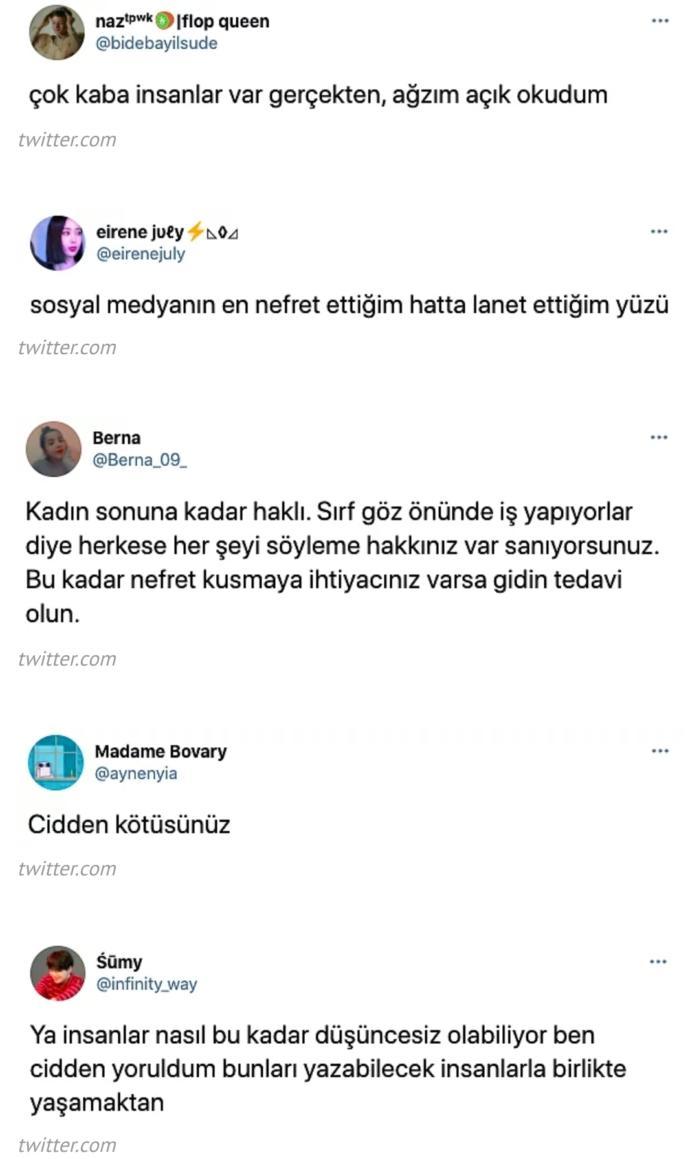 Şeyda Erdoğan, Twitterda hakaretlere isyan etti. Sosyal medya zorbalığı ne zaman bitecek?