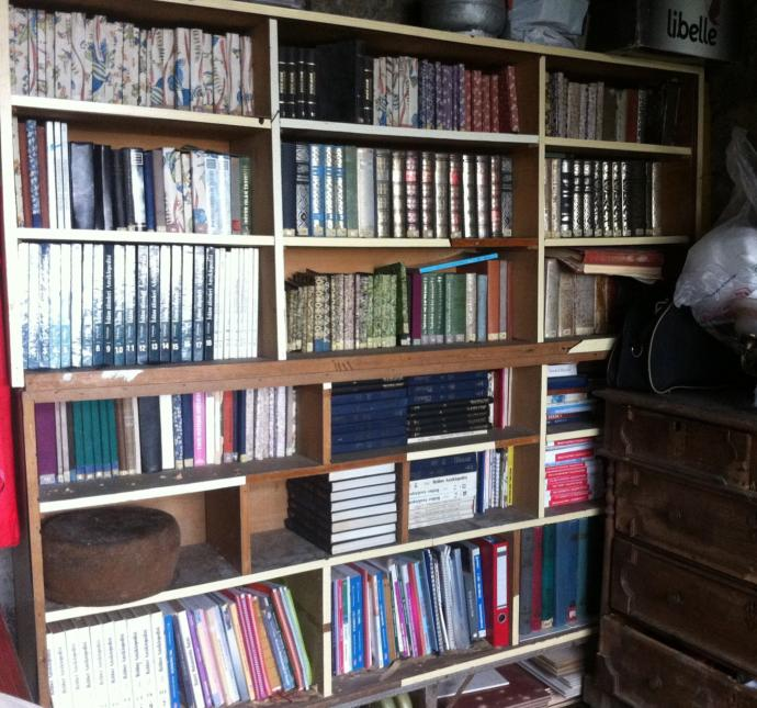 Kütüphaneniz var mı? Kaç kitabınız var toplam?