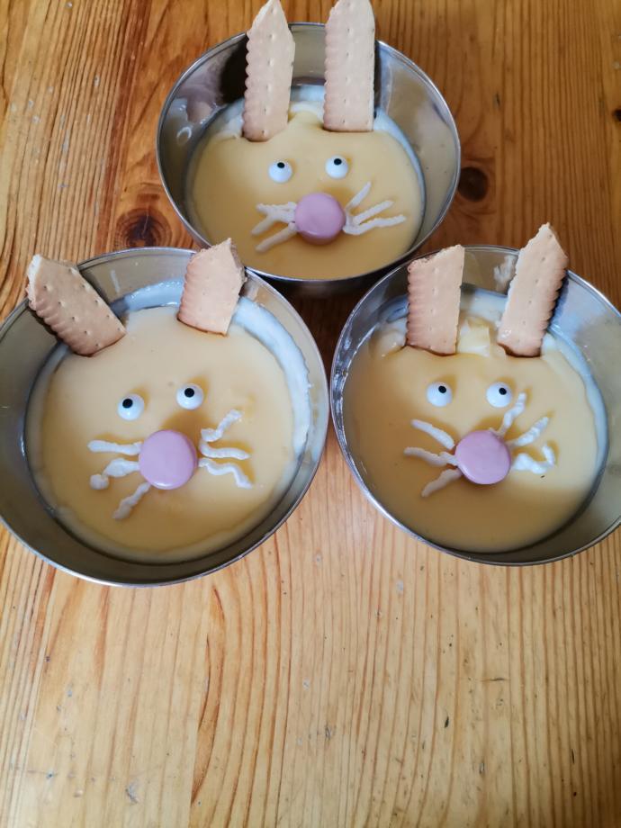 Paskalyaya hazirlik, puddings 🐰