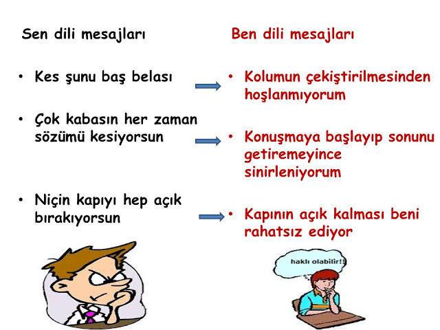 Çocukla iletişim kurarken sen dili mi, ben dili mi yoksa eylem dili mi kullanılmalı?