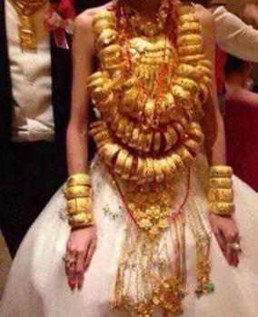 Evlenecek olsanız ne kadar altın takar veya istersiniz karşı taraftan?