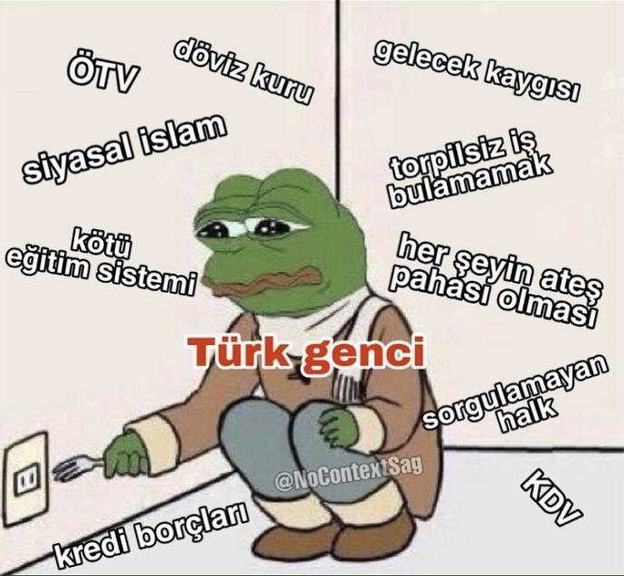Türk gencinin en büyük sorunu nedir?