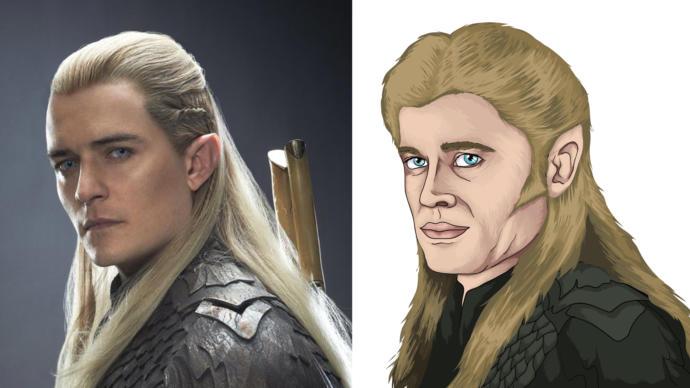 Legolas çizimimde bi aksilik mi var?