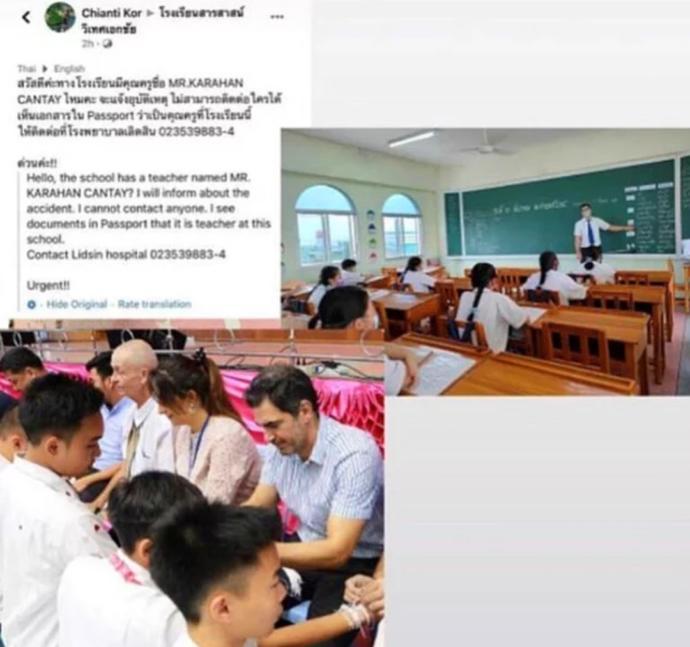 Eski model Karahan Çantay, öğretmenliği yaptığı Taylandda vefat etti. Düşünceleriniz var mı?