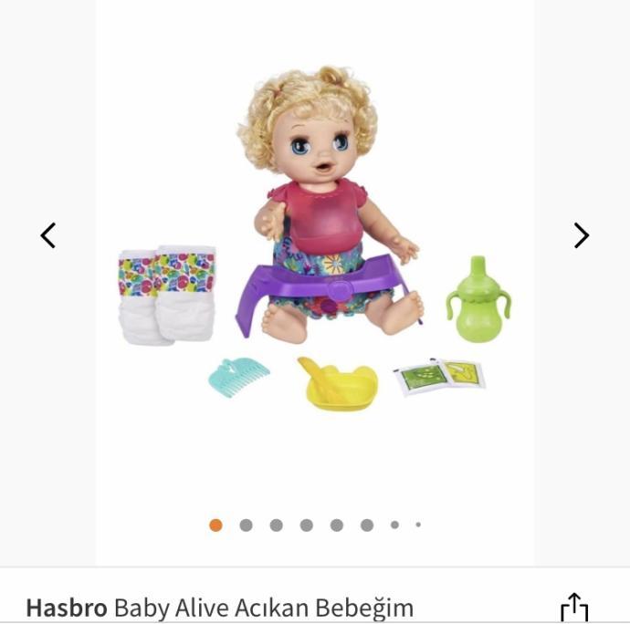 2 Yaşındaki Kız çocuğu için hangisi?