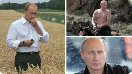 Putin, Rusya'nın en seksi erkeği seçildi! Türkiye'de senin adayın kim olurdu?
