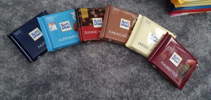 Herkes Alman çikolatası severken