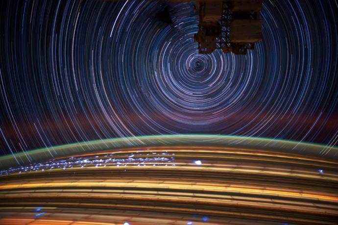 Hareket halindeki yıldızlar