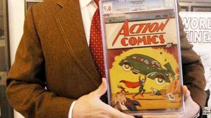 Superman çizgi romanı 3,25 milyon dolara satıldı. Siz olsanız satın alır mıydınız?