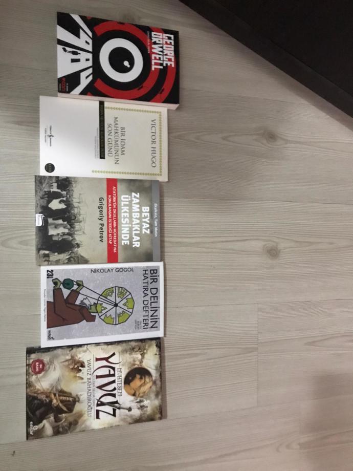 Yeni kitaplarımda gelmiş :))