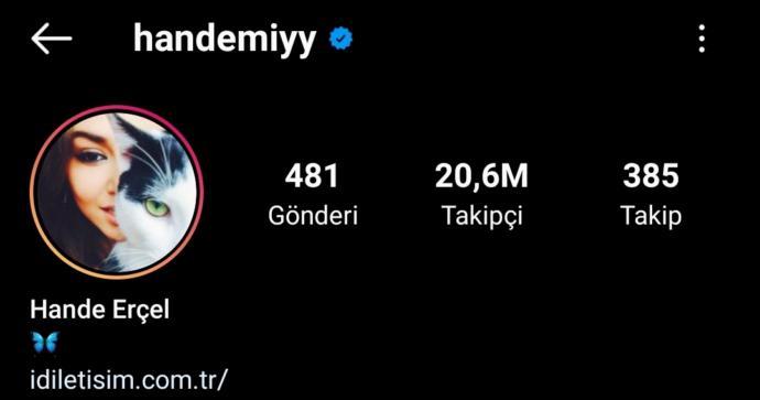 Hande 20,6M