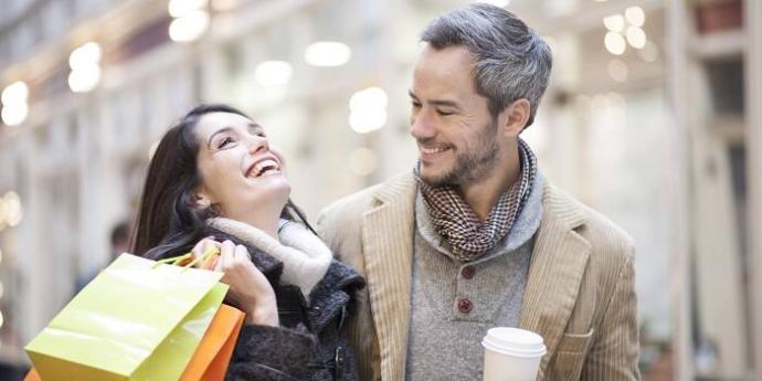 Sevgiliniz ile alışveriş yapmaktan keyif alır mısınız?