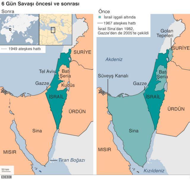 Kudüs İsrailin başkenti mi?