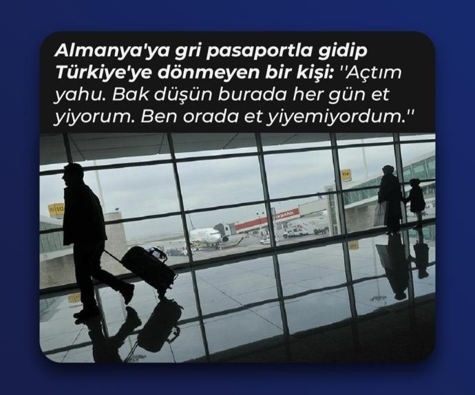 151 kişi belediye vasıtasıyla Türkiyeden ayrılıp geri dönmedi?